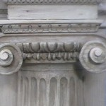 new repairs to 18 century capitals
