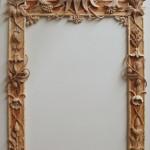 Finished frame, prior to Gilding