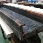 New wood repairs