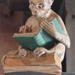 Monkey Reading in situ