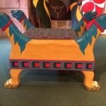 Throne in Battle Abbey Exhibition