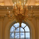 Carved and Gilded Chandelier for Orleans house gallery