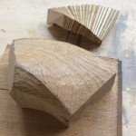 Carving a section using the MDF model
