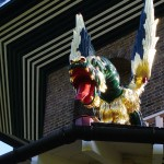 Dragon on Pagoda