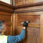 Sealing wall paneling